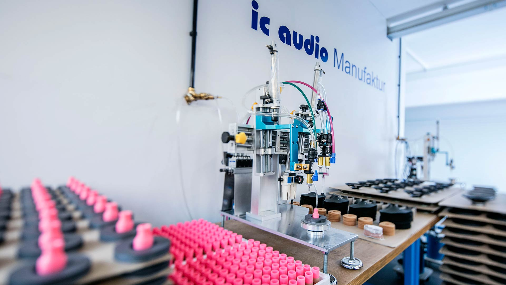 ic audio manufacture